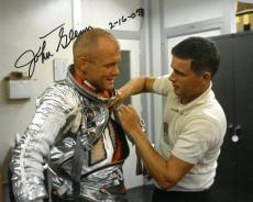 John Glenn Signed Authentic Autographed 8x10 Photo PSA/DNA #AB09227