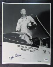 John Glenn Signed Auto Autograph 11x14 Photo PSA/DNA Y58247