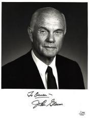 John Glenn Signed Auto Autograph 8x10 Photo - SGC COA - Senator Mercury Seven