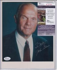 John Glenn Signed Autograph Auto 8x10 Jsa Certified