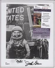 John Glenn Signed Autograph Auto 8x10 Photo Jsa Certified Authentic