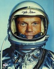 John Glenn Signed Autographed 11x14  Photo Psa/dna #x73446