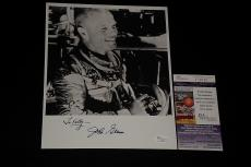 John Glenn Signed Autographed 8x10 Photo Astronaut Jsa Certified