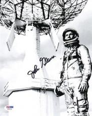 JOHN GLENN SIGNED AUTOGRAPHED 8x10 PHOTO MERCURY ASTRONAUT RARE PSA/DNA
