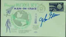 John Glenn Signed First Day Cover (PSA/DNA)
