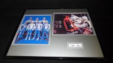 John Glenn Signed Framed 16x20 Photo Set NASA