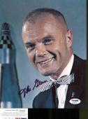 John Glenn Signed Photo 8x10 Autographed Astronaut Pilot Senator PSA/DNA P75867