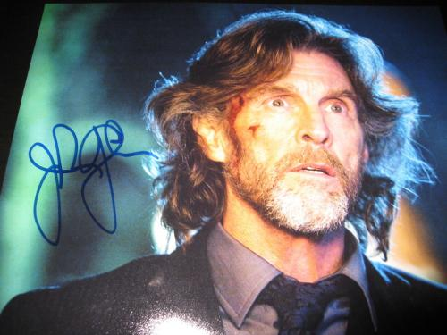 JOHN GLOVER SIGNED AUTOGRAPH 8x10 SMALLVILLE PROMO IN PERSON COA AUTO RARE COA G