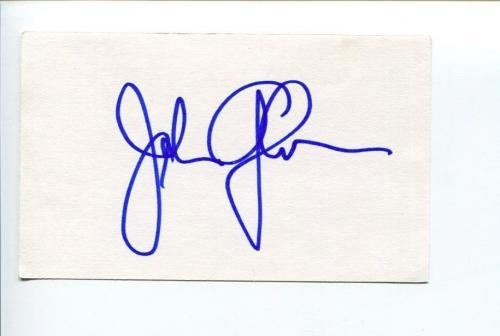 John Glover Smallville Batman & Robin The Twilight Zone Gremlin Signed Autograph