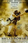 "John Goodman Autographed 12"" x 18"" The Big Lebowski  Bowling Ball Movie Poster - Beckett COA"