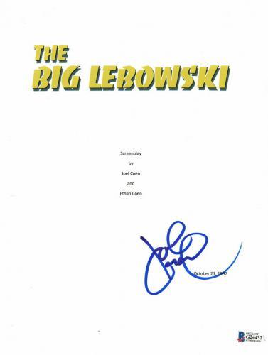 John Goodman Signed Auto The Big Lebowski Full Script Beckett Bas Coa 1