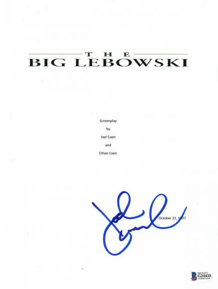 John Goodman Signed Auto The Big Lebowski Full Script Beckett Bas Coa 2