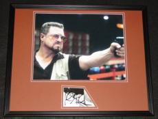 John Goodman Signed Framed 16x20 Photo Display The Big Lebowski