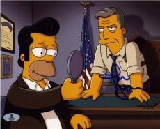 John Hamm Simpsons Autographed Signed 8x10 Photo Beckett BAS COA