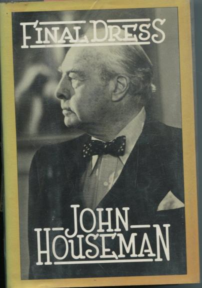John Houseman Final Dress Rollerball The Fog Signed Autograph 1st Edition Book
