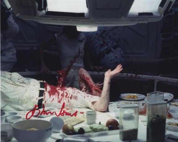 John Hurt Signed Autographed Color Alien Photo Wow!!!