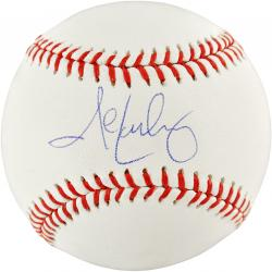 John Lackey Autographed Baseball - Mounted Memories