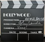 JOHN LANDIS (Animal House) signed Directors Board-JSA Authenticated