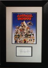 JOHN LANDIS (Director- Animal House) signed framed display- JSA I61566