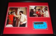 John Landis Signed Framed 16x20 Photo Set Thriller