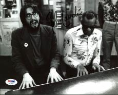 John Landis The Blues Brothers Signed 8X10 Photo w/ Ray Charles PSA/DNA #AC22632