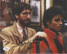 JOHN LANDIS Thriller Michael Jackson Autographed Signed 8x10 Photo Certified JSA