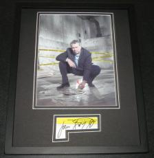 John Larroquette Signed Framed 11x14 Photo Display Boston Legal Night Court