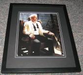 John Larroquette Signed Framed 8x10 Photo Night Court Boston Legal B