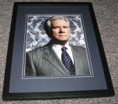 John Larroquette Signed Framed 8x10 Photo Night Court Boston Legal