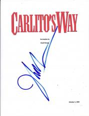 John Leguizamo Signed Carlito's Way Script Full 126 Page Authentic Autograph Coa