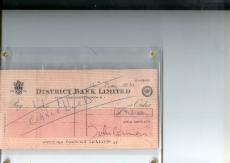 John Lennon Hand-Signed Beatles Apple Corps Check   Check
