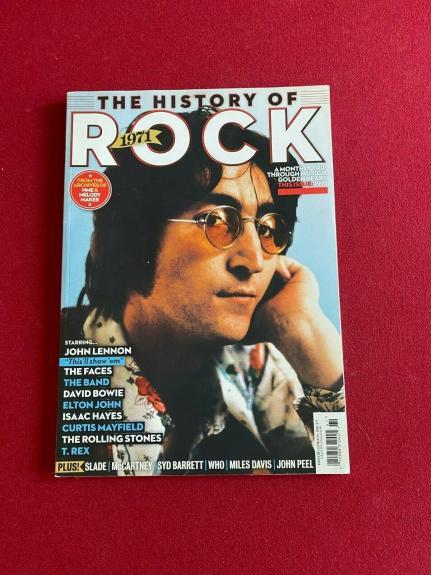 "John Lennon, ""HISTORY OF ROCK - 1971"" TIME Magazine (No Label) Beatles"