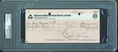 John Lennon Signed Autographed Imagine Sessions 1971 Bank Check PSA/DNA