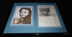 John Lennon The Beatles Framed 11x14 Rolling Stone Cover Set
