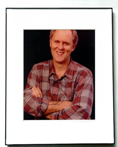 John Lithgow Autographed Signed Photo Dexter PSA/DNA    AFTAL