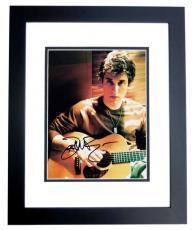 John Mayer Autographed Singer Musician 8x10 Photo BLACK CUSTOM FRAME