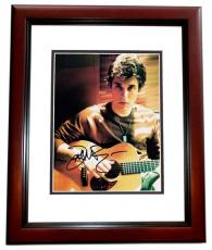 John Mayer Autographed Singer Musician 8x10 Photo MAHOGANY CUSTOM FRAME