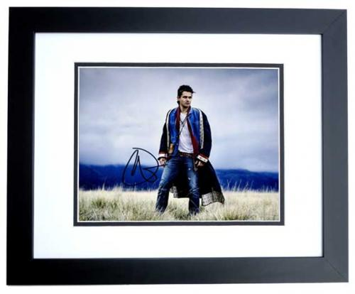3922d90e459 John Mayer Signed - Autographed Singer - Songwriter - Guitarist 8x10 inch  Photo - BLACK CUSTOM FRAME - Guaranteed to pass PSA or JSA