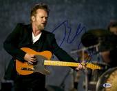 "John Mellencamp Autographed 11"" x 14"" Singing And Playing The Guitar  Photograph - Beckett COA"