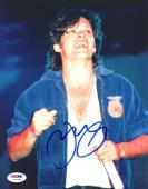 "John Mellencamp Autographed 8""x 10"" Blue Jacket Photograph - PSA/DNA COA"