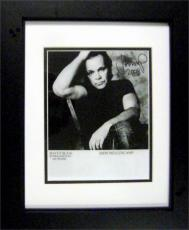 John Mellencamp autographed 8x10 photo matted and framed (Singer Jack and Diane) Image #SC1