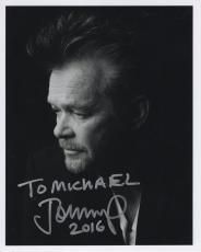 JOHN MELLENCAMP HAND SIGNED 8x10 PHOTO+COA       ROCK+ROLL LEGEND     TO MICHAEL