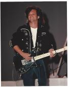 """JOHN MELLENCAMP (MUSICIAN) Hits Include """"HURT SO GOOD"""", """"JACK & DIANE"""", """"PINK HOUSES"""", and """"SMALL TOWN"""" Signed 8x10 Color hoto"""