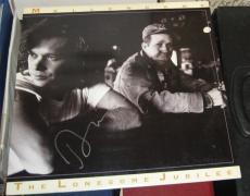 John Mellencamp Rock N Roll Hof Signed Autographed Lonesome Jubilee Album Coa