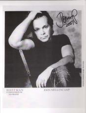 JOHN MELLENCAMP (ROCK & ROLL) Signed 8x10 B/W Photo