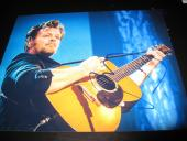 JOHN MELLENCAMP SIGNED AUTOGRAPH 8x10 PHOTO PINK HOUSES PROMO IN PERSON RARE D