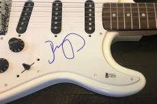 John Mellencamp Signed Autograph Rare Full Size Electric Guitar Beckett