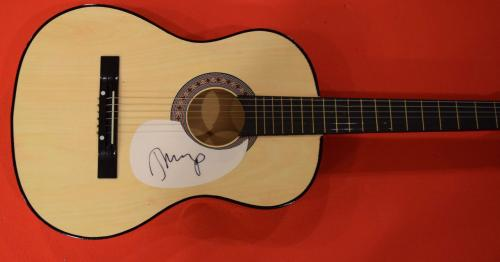 John Mellencamp Signed Autographed Acoustic Guitar Rock and Roll Star