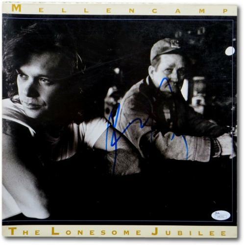 John Mellencamp Signed Autographed Album Cover The Lonesome Jubilee JSA U90352