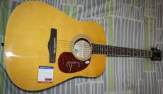 John Mellencamp signed Guitar, Lonesome Jubilee, American Fool, PSA/DNA Z51229